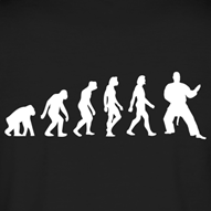 negro-evolution-of-judo-1c-camisetas-polo_design